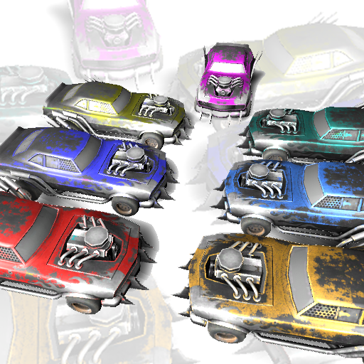 7 Monsters Truck Pack